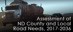 Assessment of ND County and Local Road Needs, 2015-2017 (View More Info)