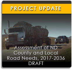 Project Update: Assessment of ND County and Local Road Needs, 2015-2017 (View More Info)