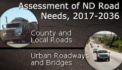Assessment of ND Road Needs, 2017-2036